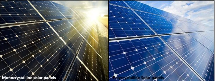 the_two_most_commun_types_of_solar_panels